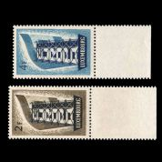 TUT2170 - Luxembourg - EUROPA 2f plus 4f perfect UM NH marginal example. CLICK FOR FULL DESCRIPTION